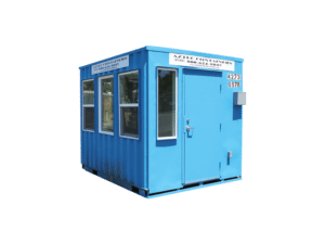 10 foot container ticket booth