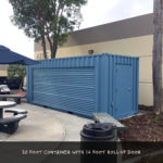 20 foot custom steel container