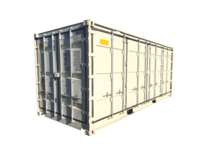 20 foot container full side open