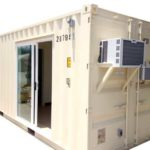 office container with air conditioning