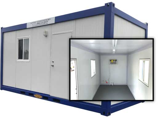 20ft Shipping Container Offices Conex Box Aztec Container