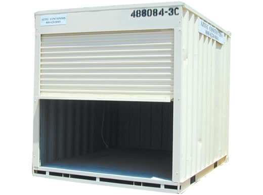 10FT Shipping Container with Roll Up Door For Sale Aztec Container