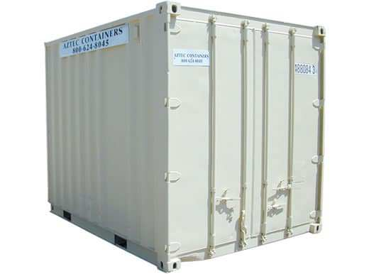 10 foot container with cargo doors