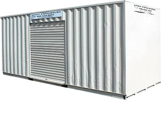 20 foot container with roll up door