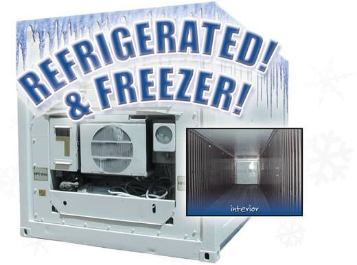 20 foot refrigerated storgae