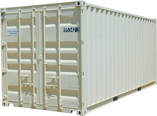 20 foot container with cargo doors