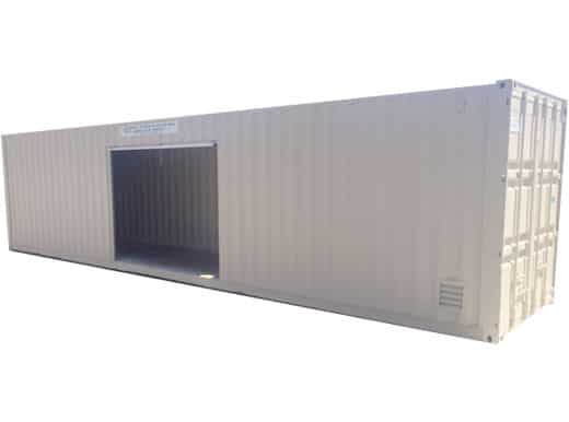 40 foot container with 2 roll up doors