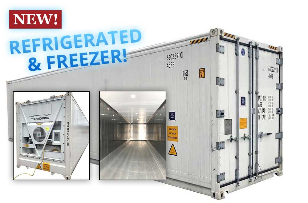 40 FT  Refrigerated Shipping Container | Reefer Container