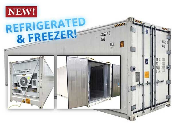 40 foot refrigerated shipping container