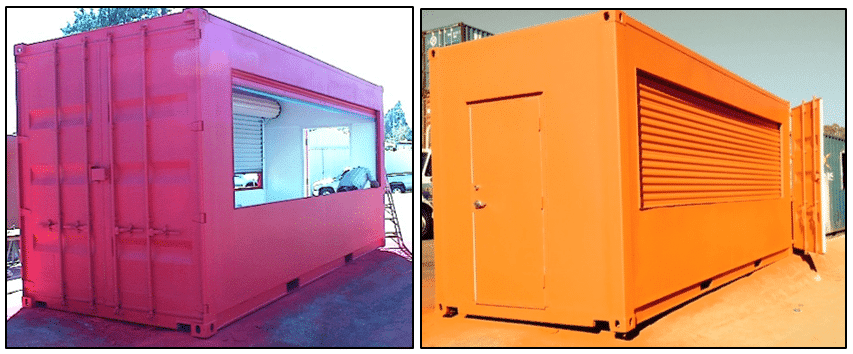 event shipping containers