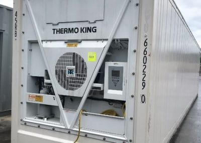 refrigerated 40 foot shipping container