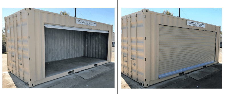 20 FT Shipping Containers and Cargo containers with roll up