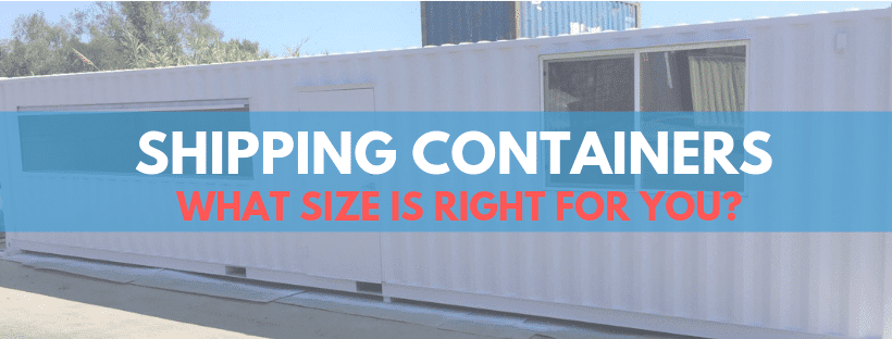 What Size Shipping Container Do I Need?
